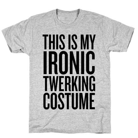 Ironic Twerking Costume T-Shirt