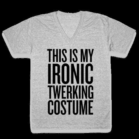 ironic gifts v neck tee shirts lookhuman