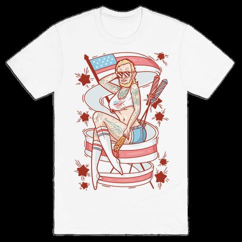 Baberaham Lincoln Mens T-Shirt
