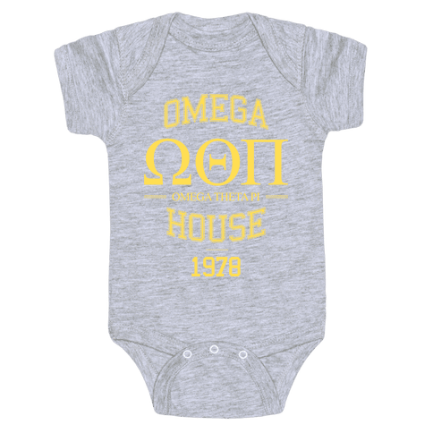 Omega House Baby Onesy