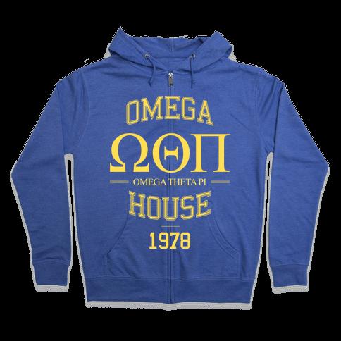 Omega House Zip Hoodie
