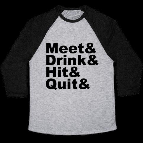 Party Shirt 2 Baseball Tee