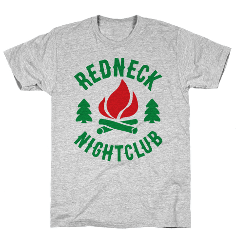 Redneck Nighclub Mens T-Shirt