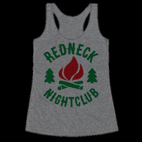 Redneck Nighclub Racerback Tank Top