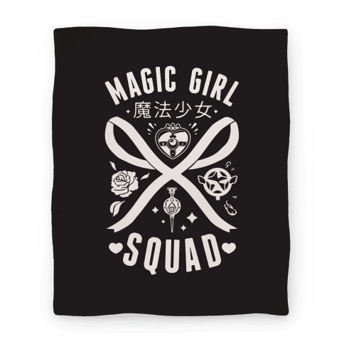Magic Girl Squad Blanket Blanket