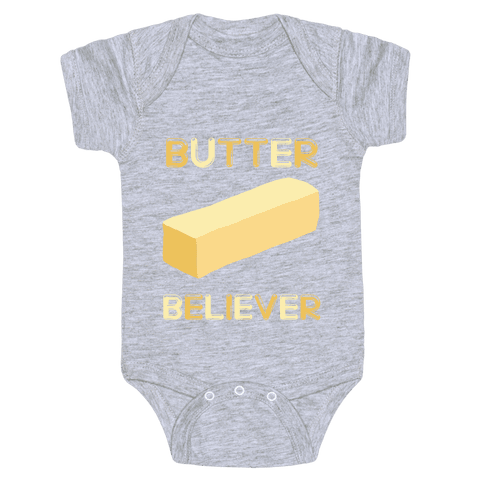 Butter Believer Baby Onesy
