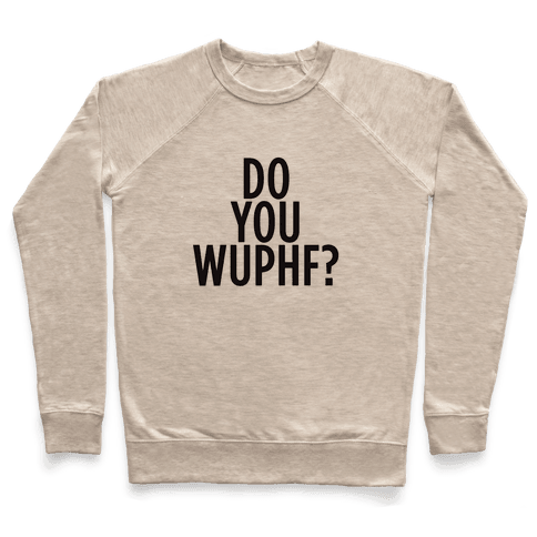 WUPHF Pullover