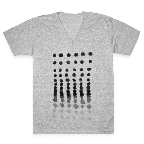 Winter Window V-Neck Tee Shirt