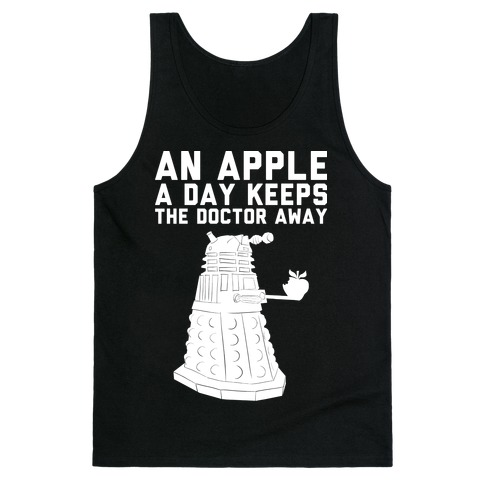 An Apple A Day Keeps The Doctor Away Tank Top