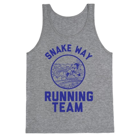 Snake Way Running Team Tank Top