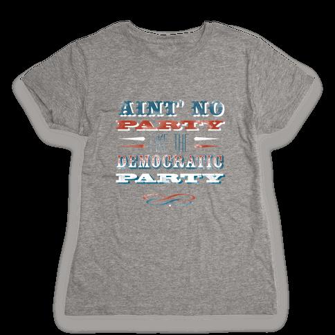 Democratic Party Shirt Womens T-Shirt