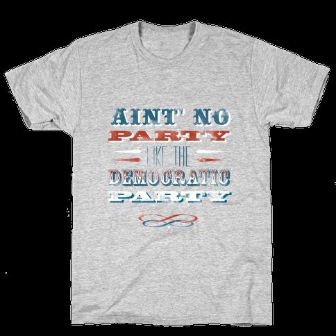Democratic Party Shirt Mens T-Shirt