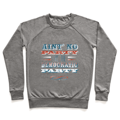 Democratic Party Shirt Pullover