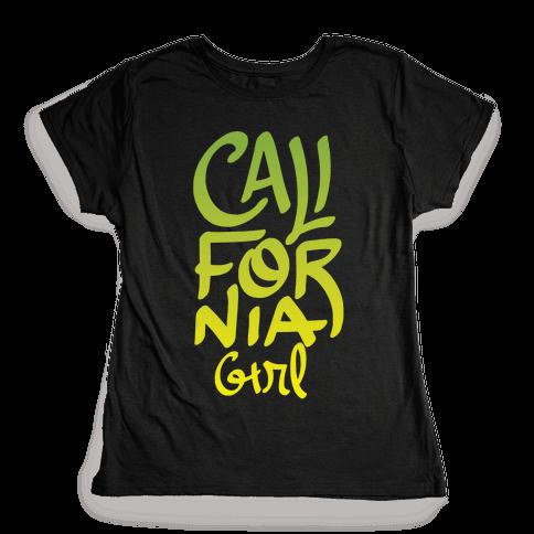 California Girl Womens T-Shirt