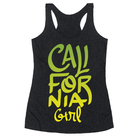 California Girl Racerback Tank Top
