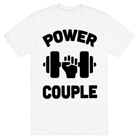 Power Couple Mens T-Shirt
