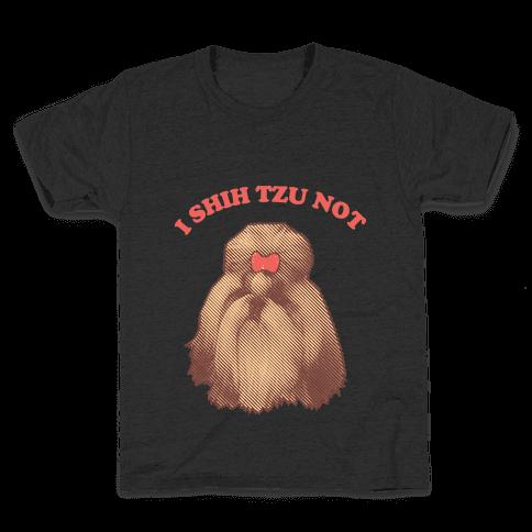 I Shih Tzu Not Kids T-Shirt