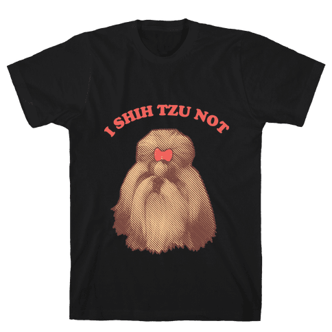 I Shih Tzu Not Mens T-Shirt