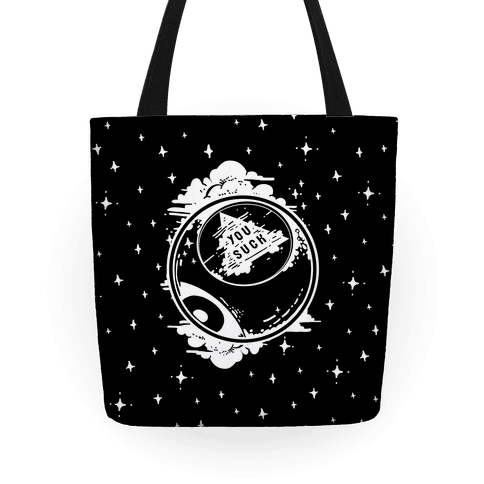 You Suck Magic 8-Ball Fortune Tote
