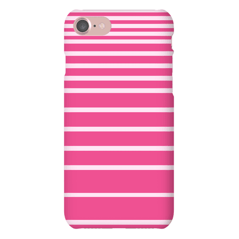 Pink Stripe Case Phone Case