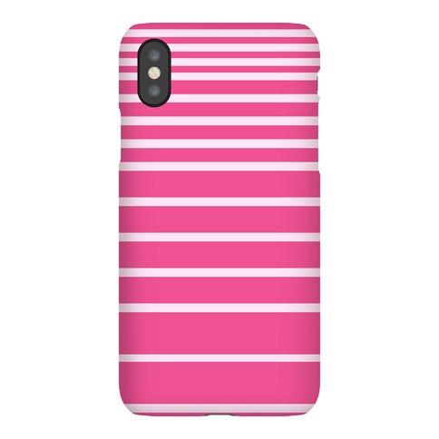 Pink Stripe Case Phone Case