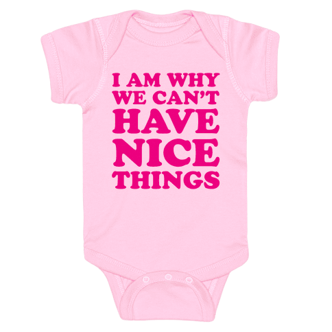 I Am Why Baby Onesy