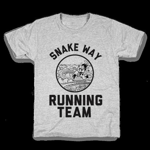 Snake Way Running Team Kids T-Shirt