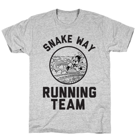 Snake Way Running Team Mens T-Shirt