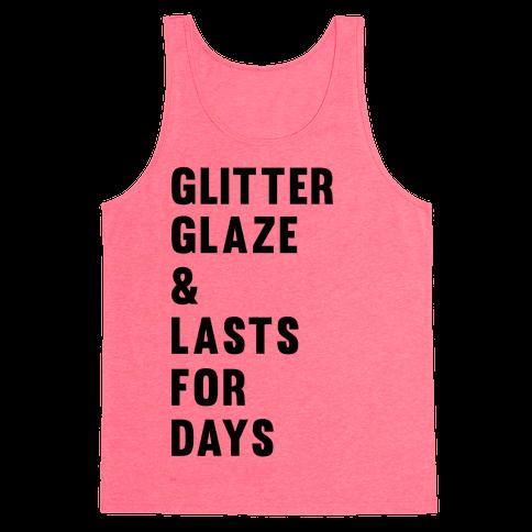 Glitter Glaze & Lasts For Days Tank Top