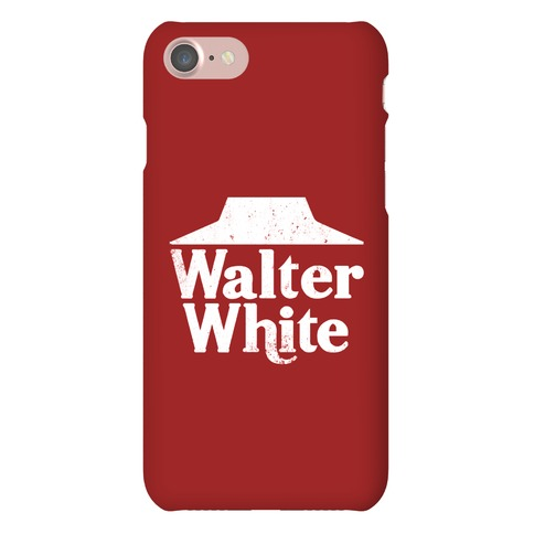 Walter White Roof Pizza iPhone Phone Case