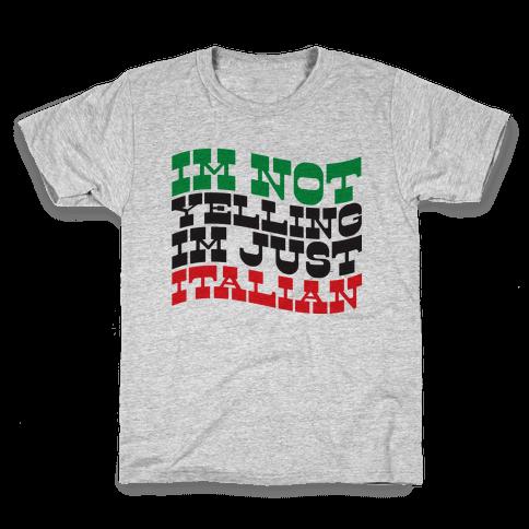 Not Yelling Kids T-Shirt