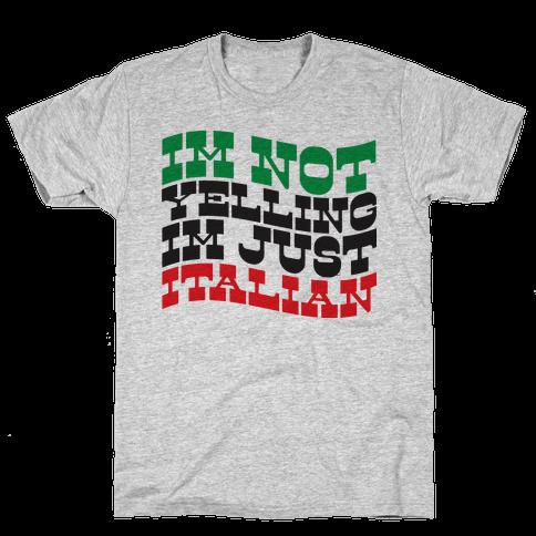 Not Yelling Mens T-Shirt
