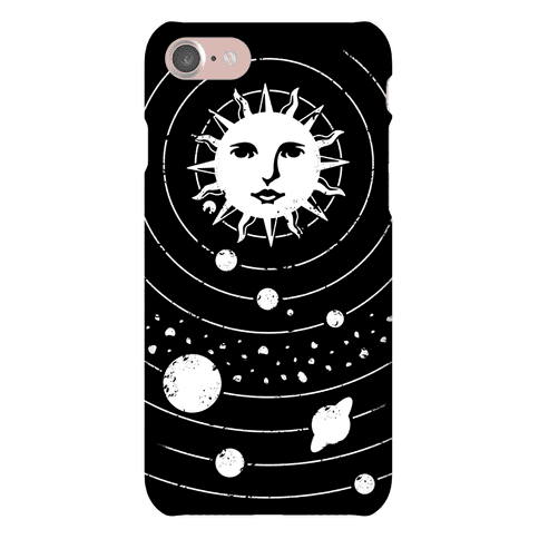 Solar System Orbit Phone Case
