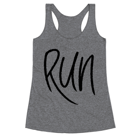 Run Racerback Tank Top