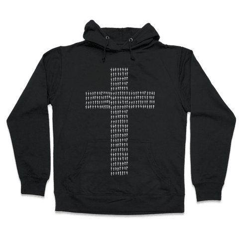 Crosses Hooded Sweatshirt