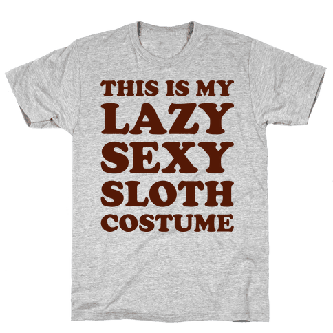 This Is My Lazy Sexy Sloth Costume Mens T-Shirt