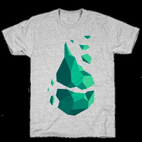 Broken Quartz Mountain Mens T-Shirt