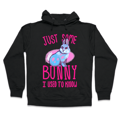 Just Some Bunny I Used To Know Hooded Sweatshirt