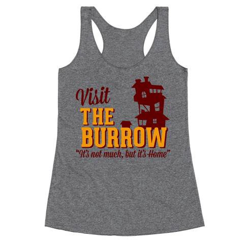 Visit The Burrow Racerback Tank Top