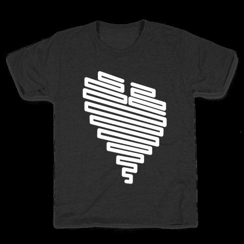 Neon Heart Kids T-Shirt