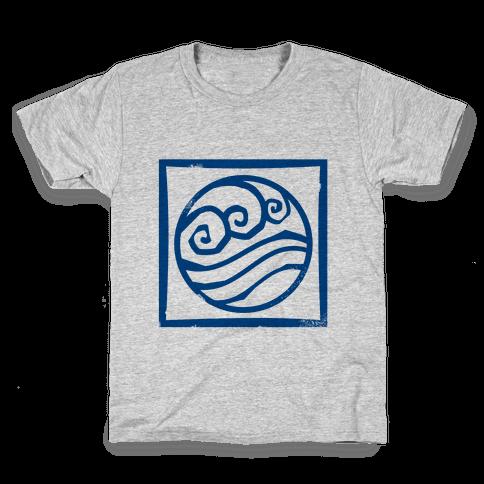 Water Bender Kids T-Shirt