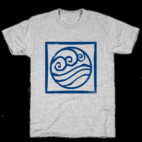 Water Bender Mens T-Shirt