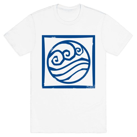 Water Bender Mens T-Shirt
