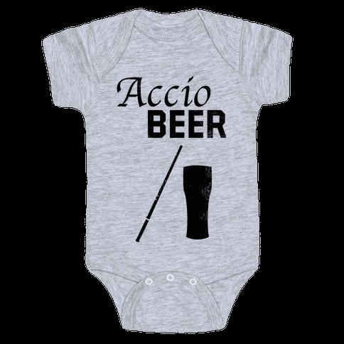 Accio BEER Baby Onesy