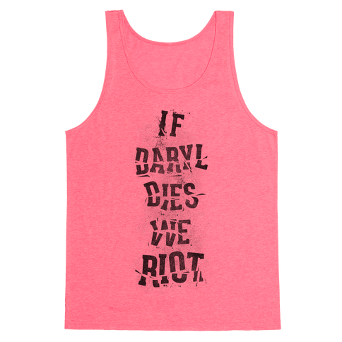 If Daryl Dies Tank Top