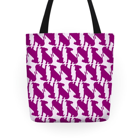 Puppy Pattern Tote