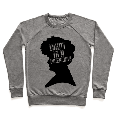 "The Countess ""What is a Weekend?"" Pullover"