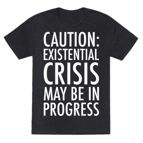 Caution: Existential Crisis May Be In Progress