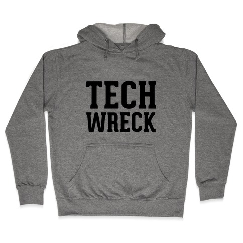 Tech Wreck Hooded Sweatshirt