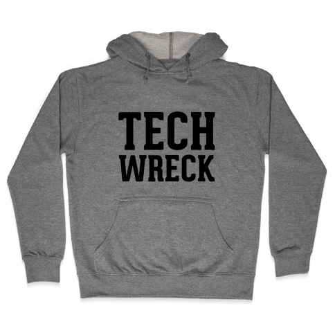 Tech Wreck Hooded Sweatshirt
